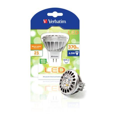 Lâmpada LED Verbatim Foco MR16 GU5.3 6,5W (36W)