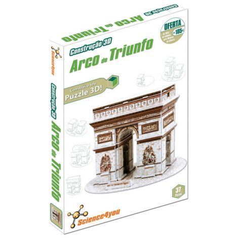 Construção 3D Arco do Triunfo