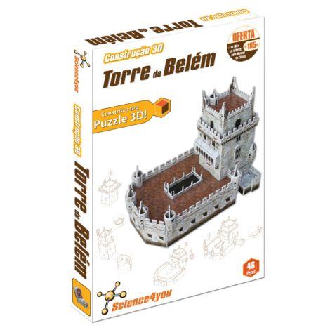 Construção 3D Torre de Belém