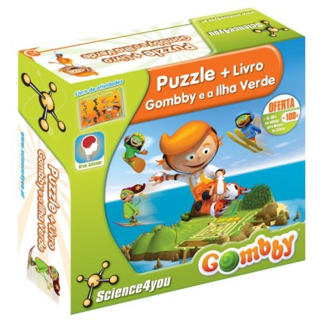 Puzzle Gombby e a Ilha Verde