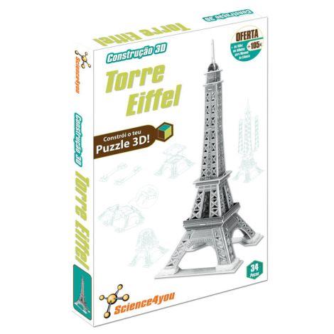 Construção 3D Torre Eiffel