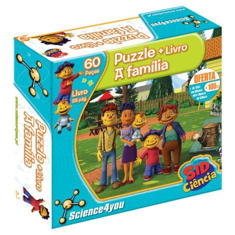 Puzzle + Livro Sid A Familía