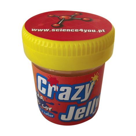 Crazy Jelly Muda de Cor
