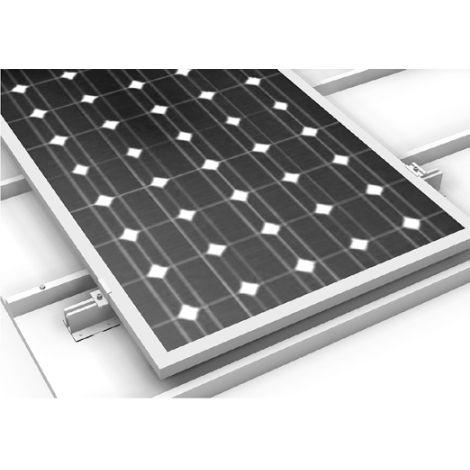 Estrutura de fixação coplanar microrail XL - Telha plana