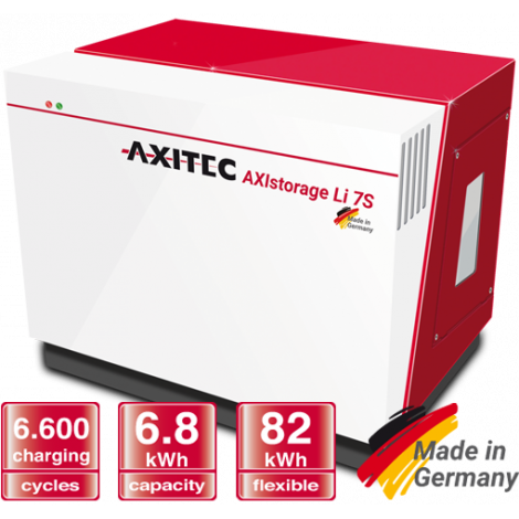 Bateria Lítio Axitec AXIstorage Li 7S - 20,4kWh