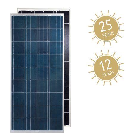 Módulo Fotovoltaico Luxor Solo Line 160 Wp Policristalino (LX-160P/156-36) 12V