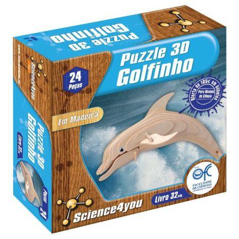 Puzzle 3D Madeira Golfinho
