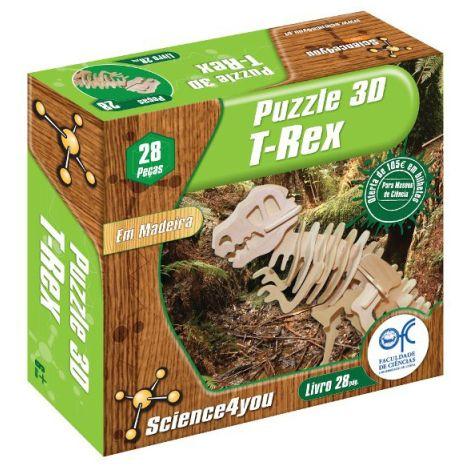 Puzzle 3D Madeira T-Rex