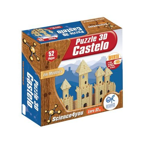 Puzzle 3D Madeira Castelo