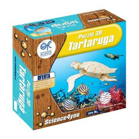 Puzzle 3D Madeira Tartaruga