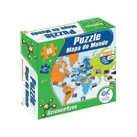 Puzzle Mapa do Mundo