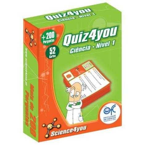 Quiz4you Ciência Nível 1