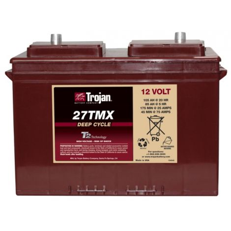 Bateria Monobloco Trojan 12V 27TMX