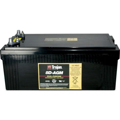Bateria Monobloco Trojan 12V 8D-AGM