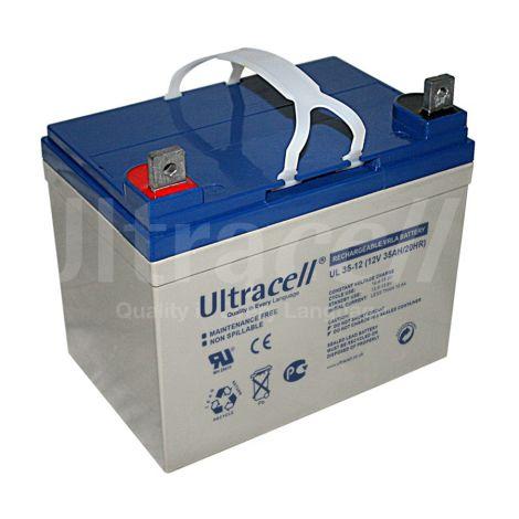 Bateria Chumbo Ultracell 12V 35Ah - UL35-12
