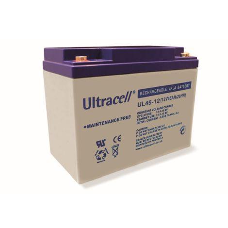 Bateria Chumbo Ultracell 12V 45Ah - UL45-12