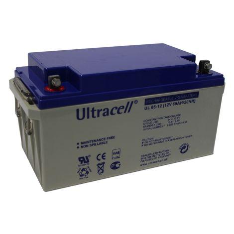 Bateria Chumbo Ultracell 12V 65Ah - UL65-12